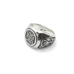 Серберяный перстень Духобор
