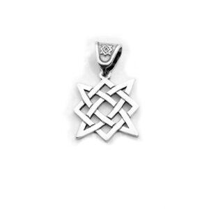 Квадрат Сварога серебряный подвес