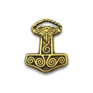 Молот Тора из бронзы