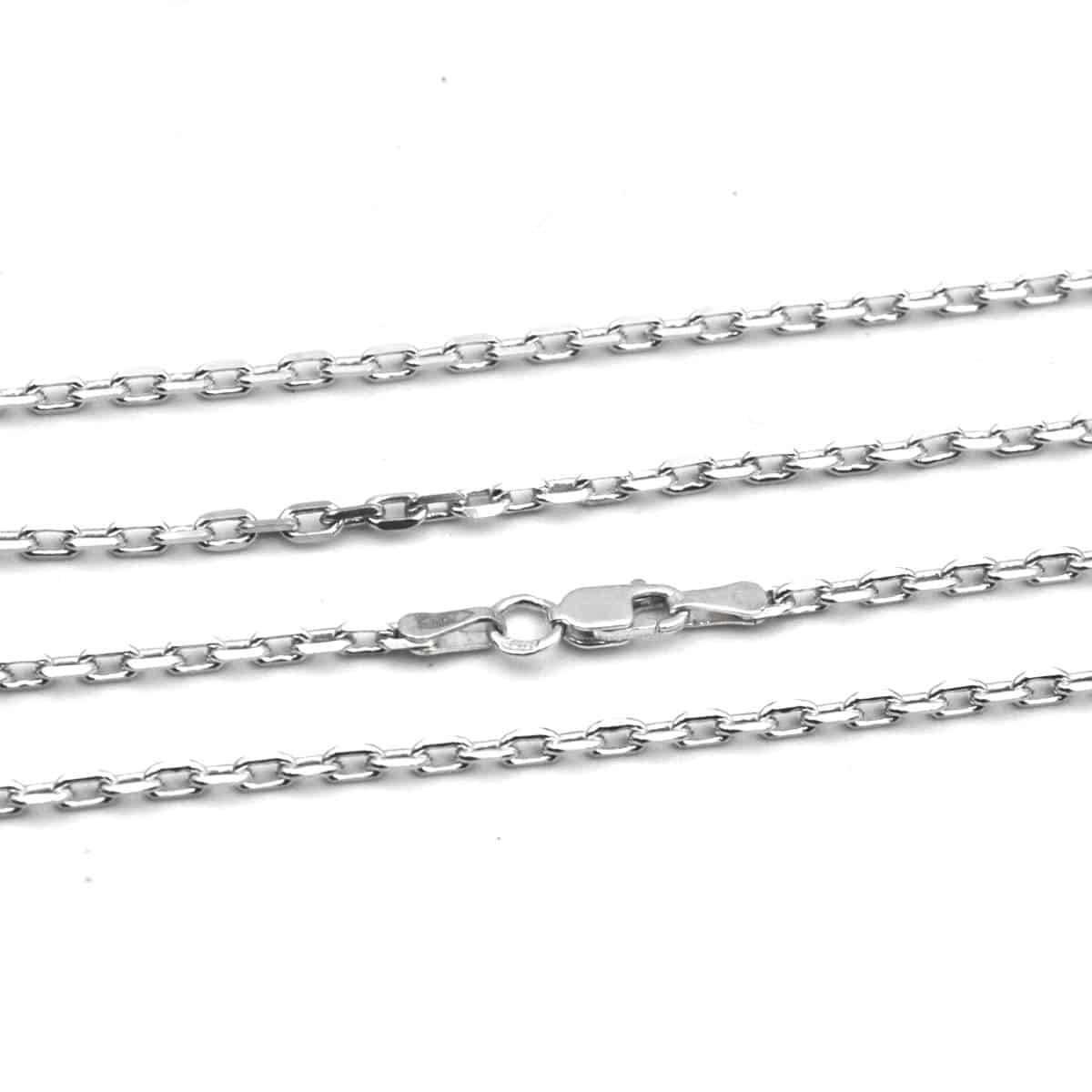 Якорная цепочка из серебра