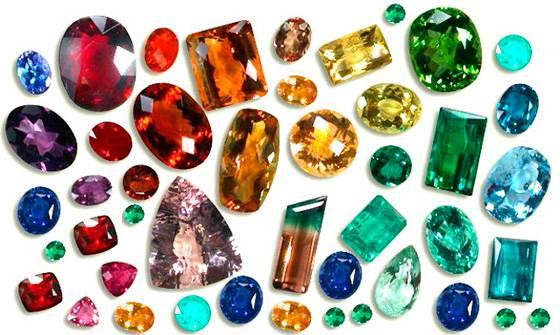 Фианит и драгоценные камни