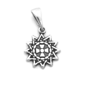 Звезда Эрцгаммы серебряный подвес