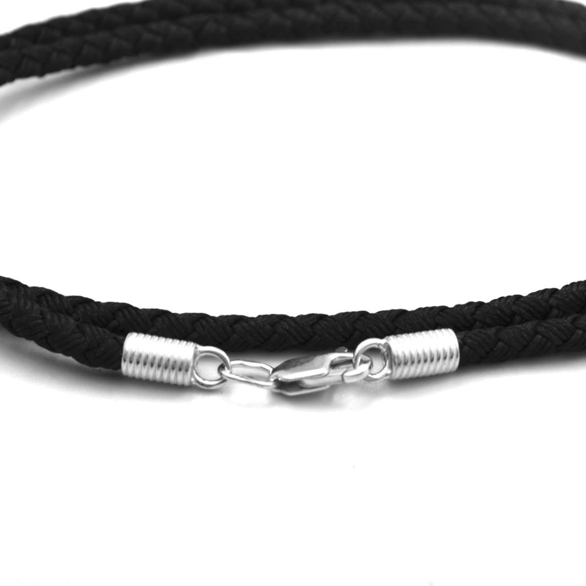 Шелковый шнурок 4 мм